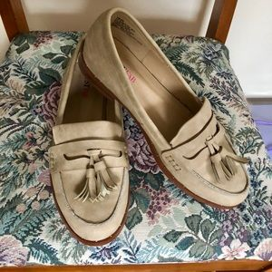 Suede loafers from JUSTFAB